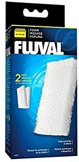 Fluval fluvfluval a 220 Filtro in schiuma 104 e 105 Filtro Esterno, materiale filtrante, 2 pezzi