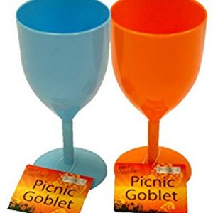 Gone Outdoors - Plastic Picnic Goblet - Orange - Boyz Toys