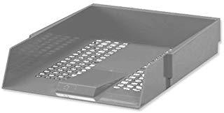 Whitebox-contratto Vassoio portalettere, colore: nero grigio