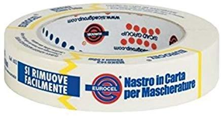 EUROCEL MSK 6143 Nastro in carta per mascherature, 25 mm x 50 m, 1 pezzo