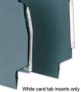 5 Star-Inserti per un File Tabs, colore: bianco (confezione da 50)