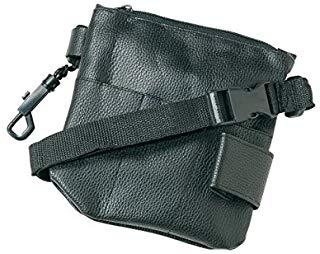 Borsa degli attrezzi, 17 x 15,5 cm, Nero, con cintura