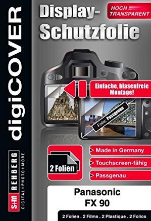 DigiCover - Pellicola protettiva antiriflesso per Panasonic DMC-FX90, colore: Trasparente
