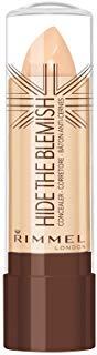 Rimmel - Correttore Hide The Blemish - Stick Copri Occhiaie, Rossori e Imperfezioni - Natural Beige - 4.5 g