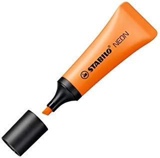 Evidenziatore Stabilo evidenziatore Neon Arancione