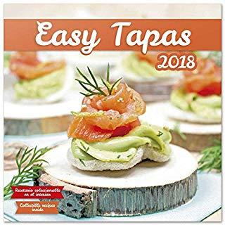 Grupo Erik editores- Calendario 2018 30 x 30 Easy Tapas