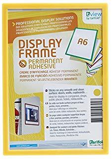 Tarifold 945920 - Porta badge a6, giallo