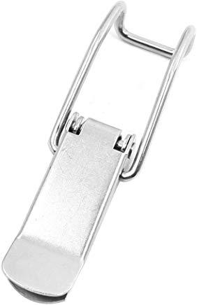 Sourcingmap a13112800ux0680 - Scatole tool box armadio petto tono argento in acciaio inox a ginocchiera chiavistello