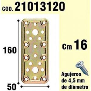 WOLFPACK 21013120 - Supporto per il legno, bicromatada piatto 50 x 160
