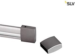 Slv 184142 End Cap For Easytec Ii, 2 Pieces, Silvergrey