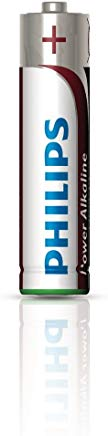 Philips Power Alkaline Batteria LR03P4F-10