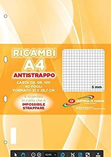 Cartiera di Varese RI41511 Ricambio Antistrappo