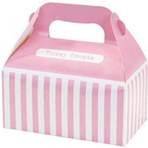 Talking Tables Mix and Match - Scatola per dolci, confezione da 4, colore: Rosa