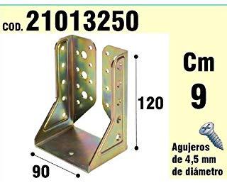 Wolfpack 21013250-Supporto per legno, Ali interni, bicromato, 90 mm
