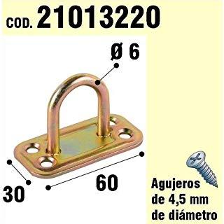 Wolfpack 21013220 - Supporto per anello di legno, di bicromato, 6 mm di diametro