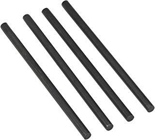 Avery Dennison 404B-118-Asta di sollevamento per piatti, confezione in metallo, 118 mm, confezione da 4 pezzi nero