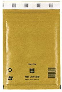 Sealed Air 195781 Busta Imbottita a Bolle d'Aria, 10 pezzi