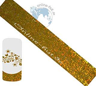 Trasferimento Schermo olografico oro Glitter 2