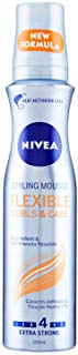 Nivea Styling Mousse Flexible Curls & Care, Schiuma per Capelli, 150 ml