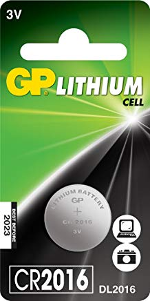 GP Batteries Lithium Cell CR2016 Single-use battery Litio 3 V