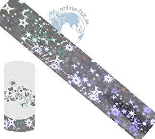 Trasferimento Schermo stelle di sfondo argento iridato 2