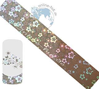 Trasferimento Schermo olografico Cherry Blossom di sfondo argento