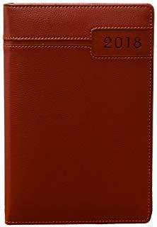 Makro Paper 002493 - Agenda 2018, 150 x 210 mm, colore: nero