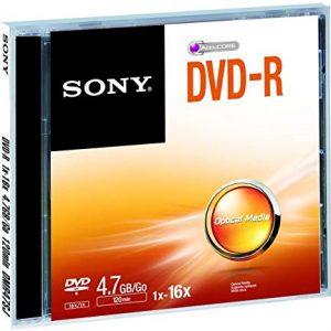 Sony DVD-R 4.7GB DMR47 - Confezione da 1