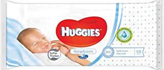 Huggies Newborn Salviette, 1 Pacco da 56 Pezzi