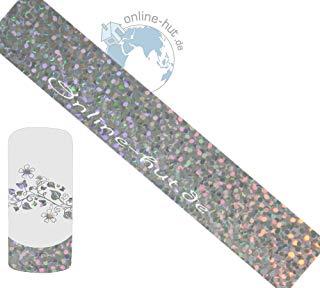 Trasferimento Schermo punti di sfondo argento iridato