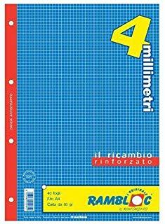 Rambloc Ricambi A4 210 x 297 mm (A4) 40fogli