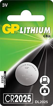 GPS Pila litio a bottone CR 2025, confezione da 1
