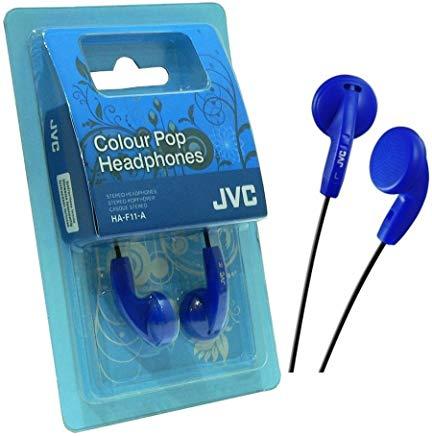 JVC HA-F11 Intraurale Auricolare Blu