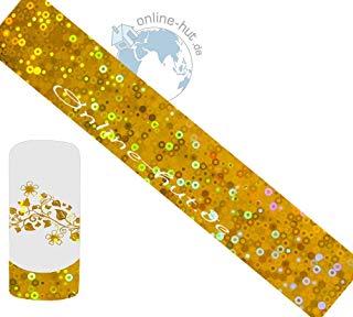 Transfer Pellicola cerchi di oro iridato