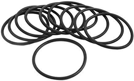 Sourcingmap - 10pcs 43 millimetri x 38,2 millimetri x 2,4 millimetri di gomma o anello di tenuta olio sostituzione della guarniz