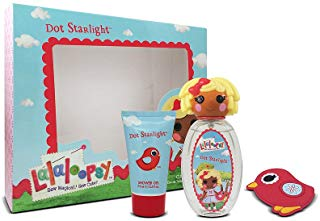 Lalaloopsy DOT Starlight cute Coffret Eau de Toilette spray Trio set regalo per lei