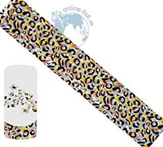 Trasferimento Schermo Leopard di sfondo argento iridato 3