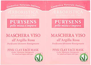 Maschera Argilla Rosa 2 x 10 ml