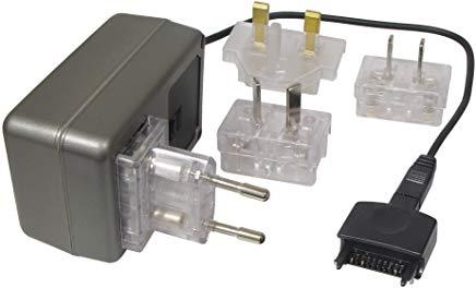 Transmedia Alimentatore di rete da viaggio 500 mA PDA sincronizzato con GB-US-AU-EU maschio e connettore 100 - 240 V-5 V NTT16L