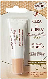 Cera di Cupra Balsamo Labbra Protettivo e Nutriente, 10 ml