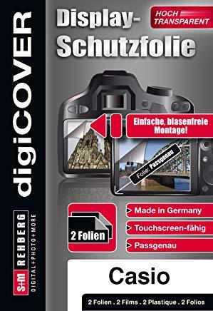 digiCOVER - Pellicola salvaschermo per Casio EX-ZR20