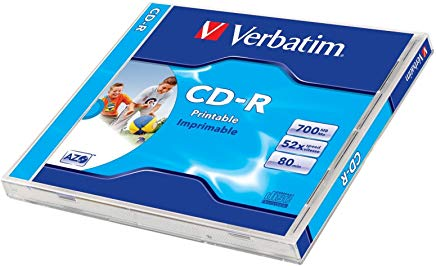 Verbatim CD-R 80 700MB  52X