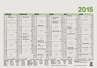 Baier & Schneider lavoro giorni Calendario, Calendario Lavagna Uws a 4 Croce, 297 X 210 mm 210 x 148 mm