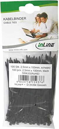 InLine 59963G fascetta Nero