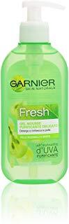 Garnier Fresh Gel Mousse Detergente Purificante per Pelli Normali o Miste, 200 ml