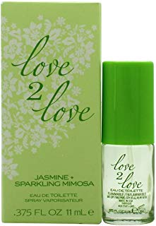 Love 2 Love Jasmine Plus Sparkling mimosa Eau de Toilette 11 ml Spray per lei