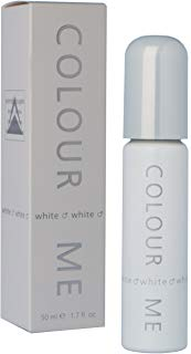 Colour Me White, Eau de Toilette spray Uomo, 50 ml