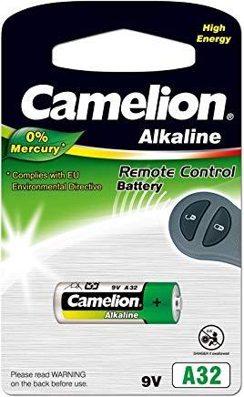 Camelion 11050132 - Plus Alkaline batterie senza mercurio LR32-A-9 Volt, 1er