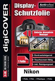 digiCOVER premium - Pellicola protettiva antiriflesso per display, per Nikon Coolpix P310