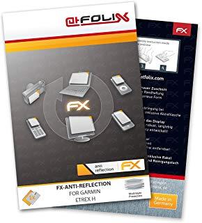 atFoliX FX-Antireflex Pellicola protettiva per Garmin Etrex H - Pellicola protettiva per display antiriflesso!